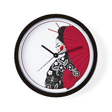 geishatshirt Wall Clock