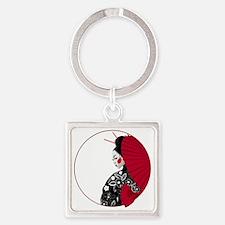geishatshirt Square Keychain