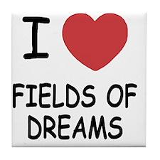 FIELDS_OF_DREAMS Tile Coaster