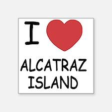"""ALCATRAZ_ISLAND Square Sticker 3"""" x 3"""""""