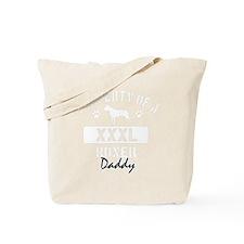 boxer daddy property white Tote Bag