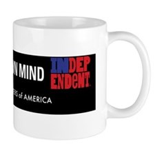 I make up my own mind Mug