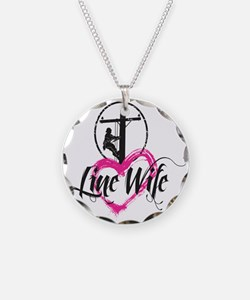 high voltage line wife front Necklace