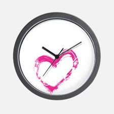 high voltage line wife front black shir Wall Clock