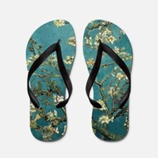 Almond Branches in Bloom 2sc Flip Flops