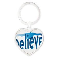 cp_believeswimming Heart Keychain