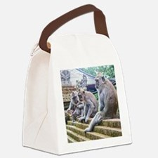 Hanging Out Canvas Lunch Bag