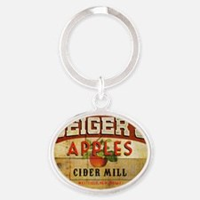 Geigers_Full Color Logo Oval Keychain