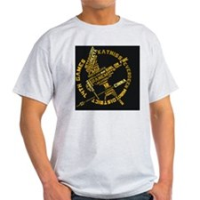 wordart-button T-Shirt