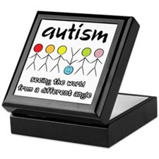 autism angle Keepsake Box