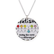 autism angle Necklace