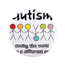 "autism angle 3.5"" Button"