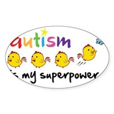 autism superpower Decal