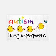 autism superpower 3'x5' Area Rug