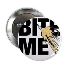 "bite me fishing 2.25"" Button"