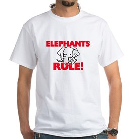 Elephants Rule! T-Shirt