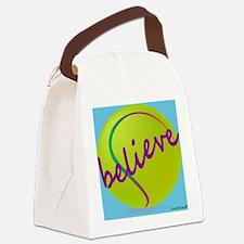 cp_believetennis Canvas Lunch Bag