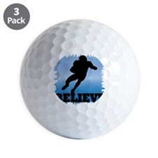 cp_believefootball Golf Ball