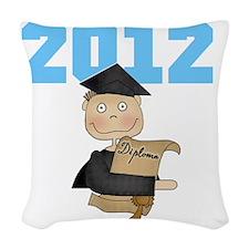 2012ltblueboy Woven Throw Pillow