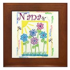 Nana Framed Tile