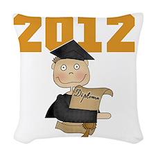 2012goldboy Woven Throw Pillow