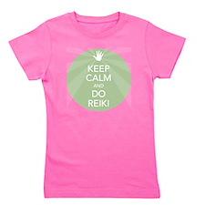 SHIRT KEEP CALM GREEN Girl's Tee