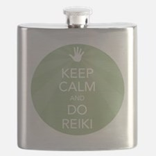 SHIRT KEEP CALM GREEN Flask