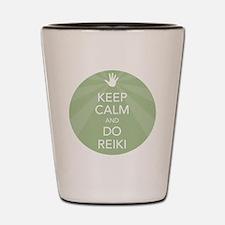 SHIRT KEEP CALM GREEN Shot Glass