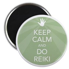 SHIRT KEEP CALM GREEN Magnet