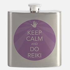 SHIRT KEEP CALM PURPLE Flask