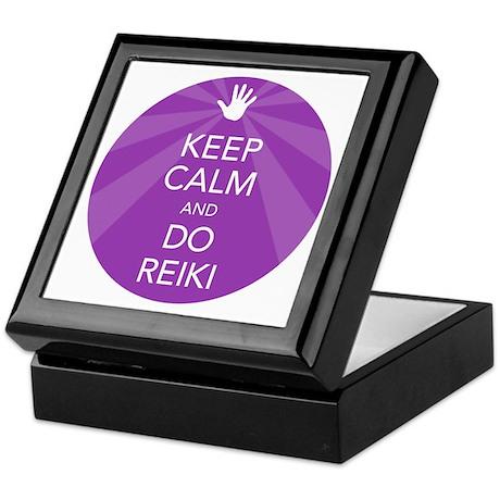 SHIRT KEEP CALM PURPLE Keepsake Box