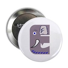 E is for Elephant Button