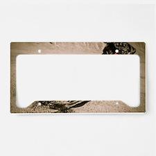 Auugie Labrador Retriever License Plate Holder