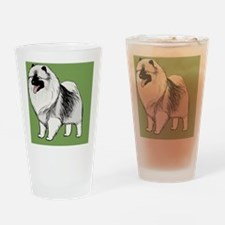 keeshondlicense Drinking Glass