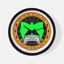 WarriorU Wall Clock