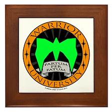 WarriorU Framed Tile