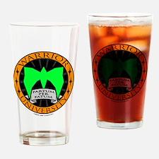 WarriorU Drinking Glass