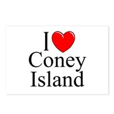 """""""I Love Coney Island"""" Postcards (Package of 8)"""
