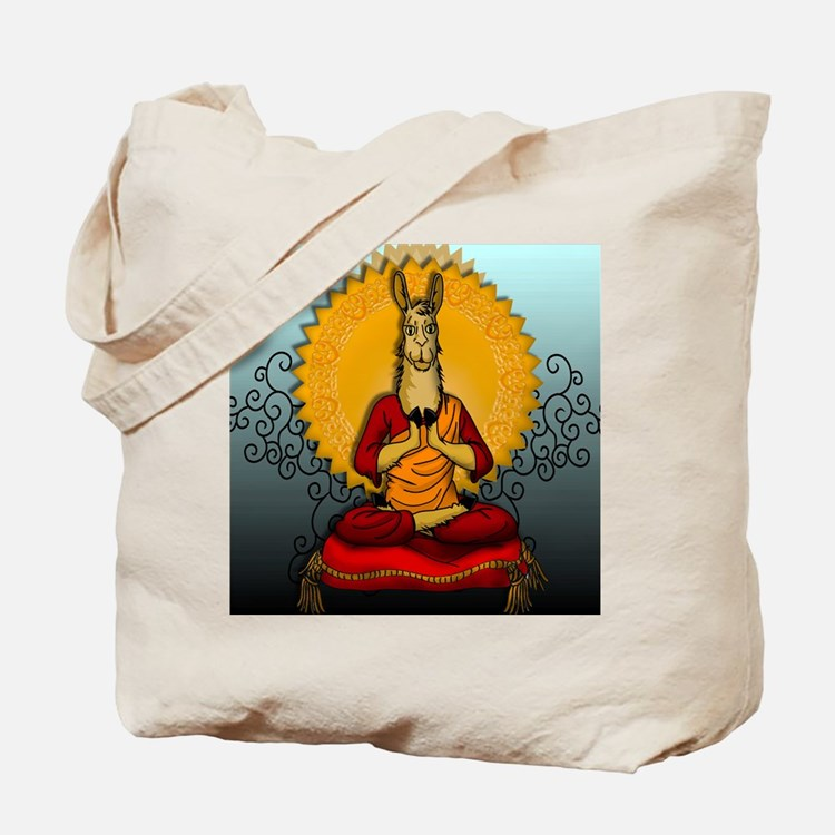 DHALAI-LLAMA-THROW-PILLOW.gif Tote Bag
