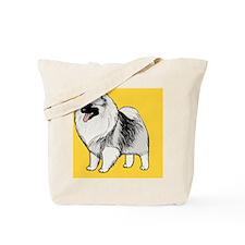 keeshondcoinpurse Tote Bag