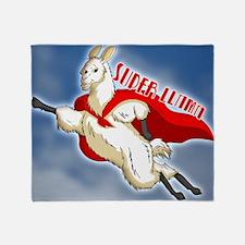 SUPER-LLAMA-THROW-PILLOW.gif Throw Blanket
