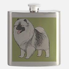 keeshondipad Flask