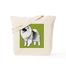 keeshondipad Tote Bag