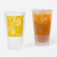 Yellow Shower Drinking Glass