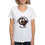 Tie Dye Women's V-Neck T-Shirt