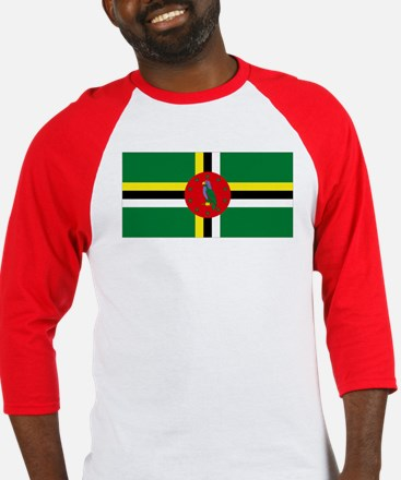 The Commonwealth of Dominica Baseball Jersey