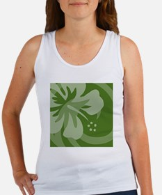 DarkGreen Shower Women's Tank Top