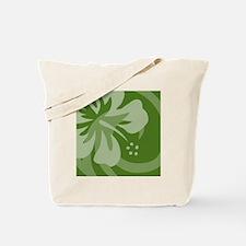 DarkGreen Shower Tote Bag
