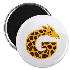 """G is for Giraffe 2.25"""" Magnet (10 pack)"""