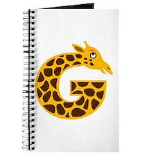 G is for Giraffe Journal